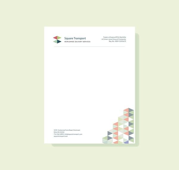 an example of a letterhead