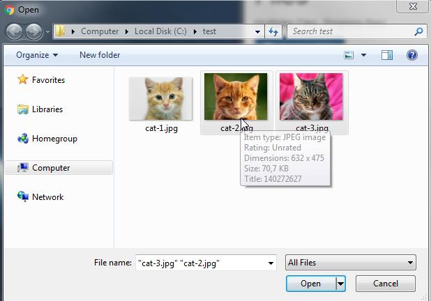 angularjs multiple file upload example