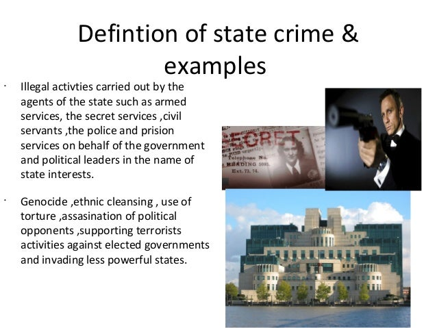 provide an example of a biological explanation for criminal activity