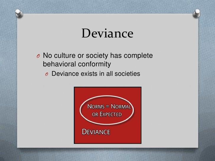 example of deviant behavior in school