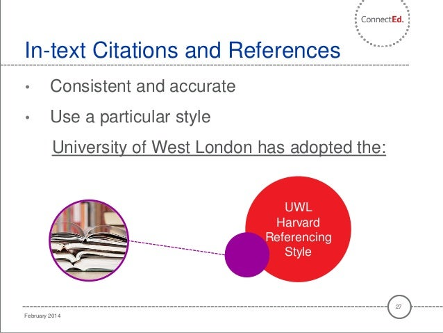 harvard referencing in text citation website example