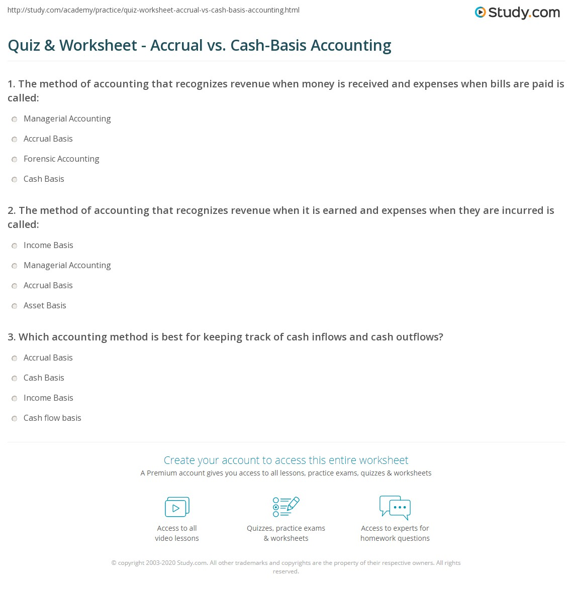 difference between cash basis and accrual basis with example
