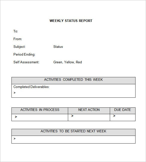 end of project report example