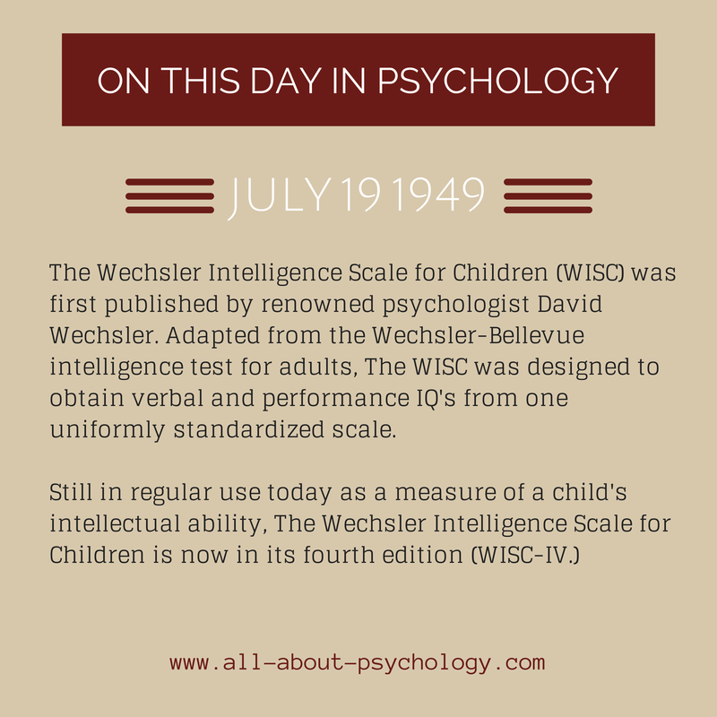 example of wechsler intelligence test