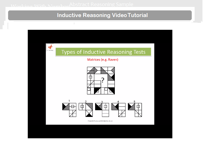 example of abstract reasoning test