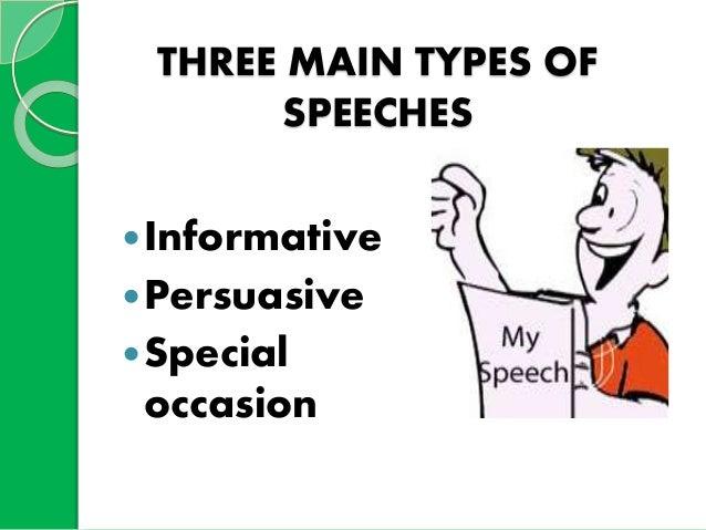 example of public speaking speech text