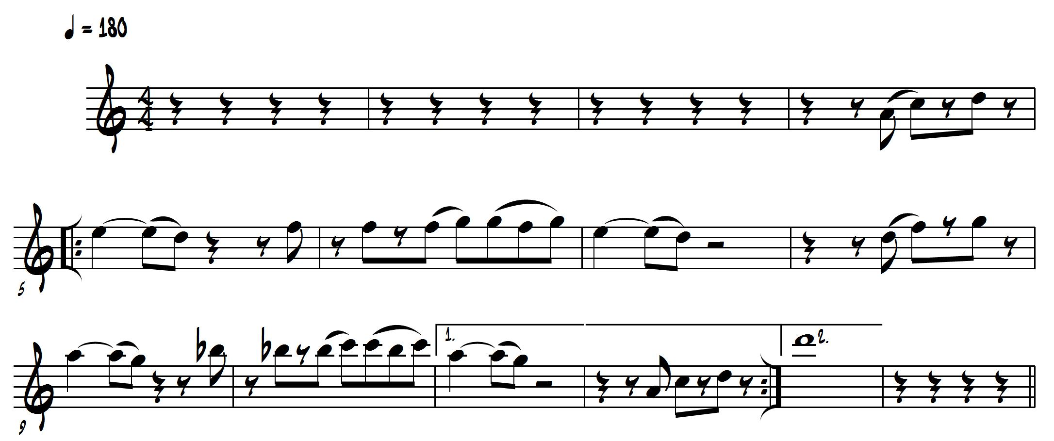 example of melody in music