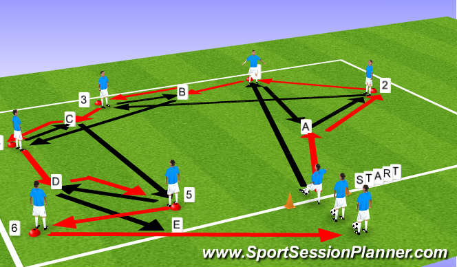 example of static stretch in soccer