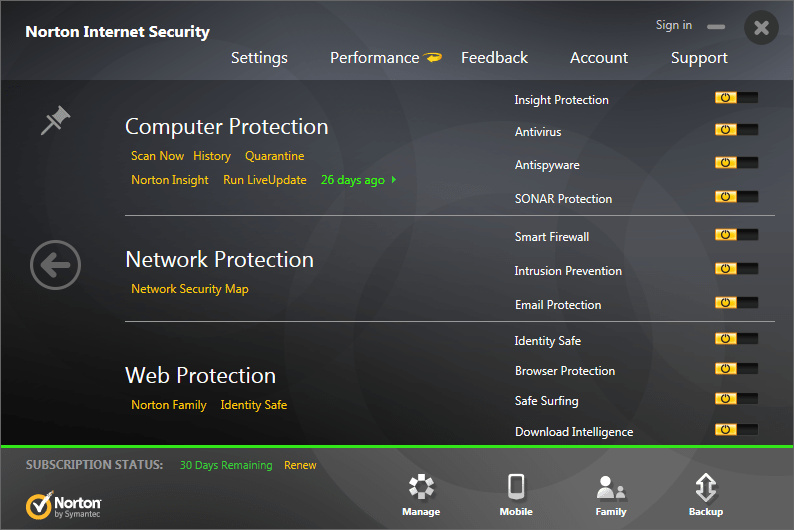 norton antivirus software is an example of