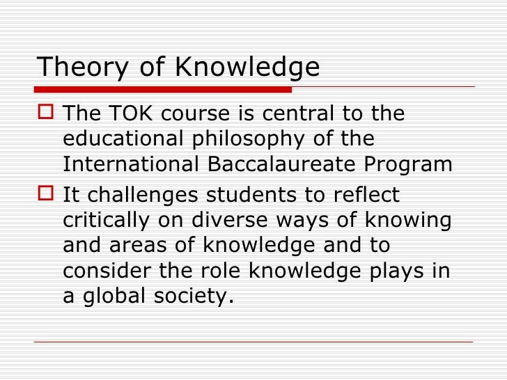 example ib theory of knowledge essay
