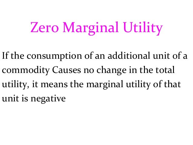example of total utility and marginal utility
