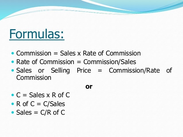 base salary plus commission example