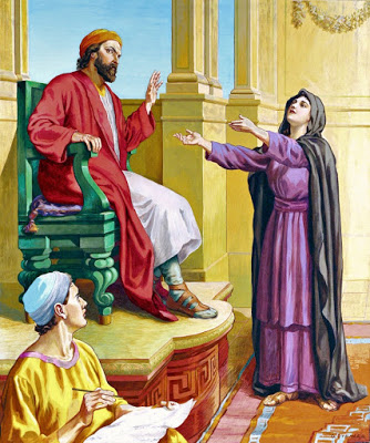 gospel reading in a liturgy example world peace