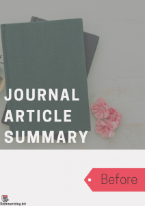 abstract of journal article example