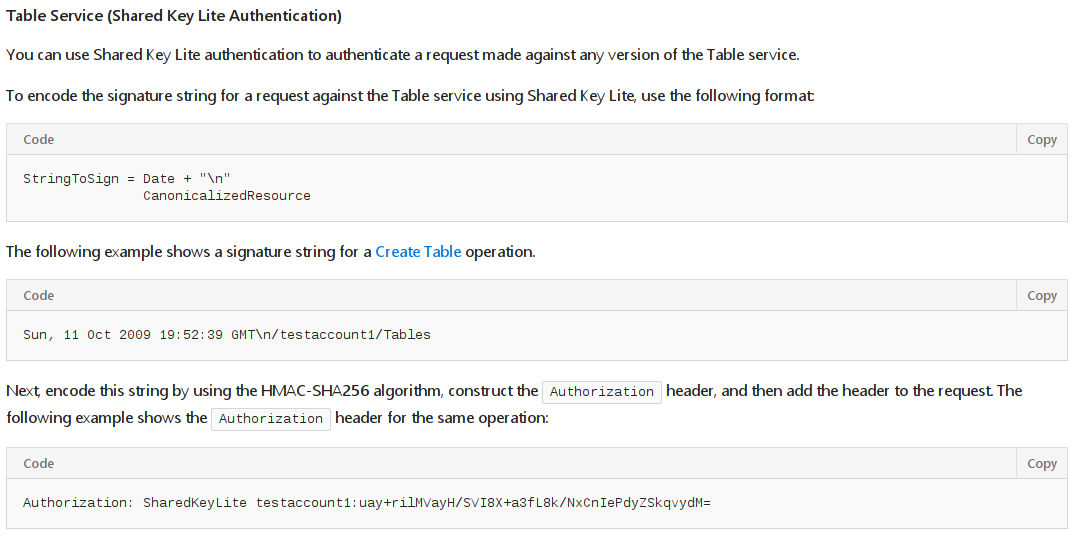 azure table storage rest api example