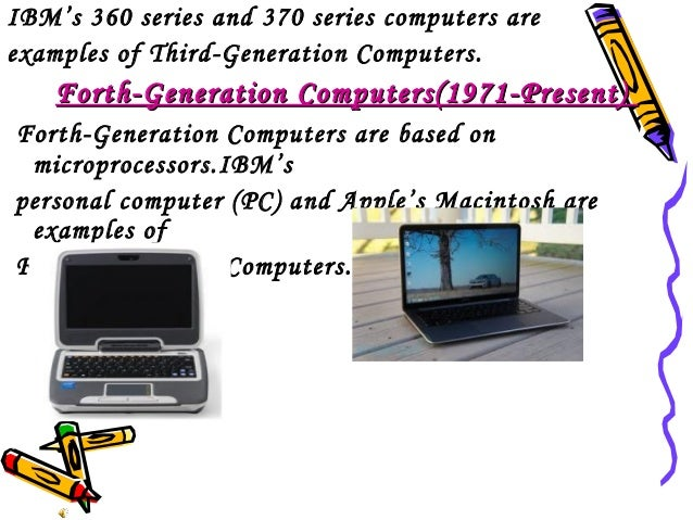 example of 5th generation computer