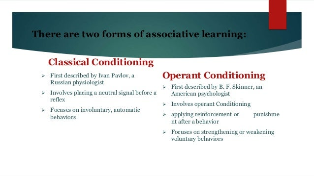example of acquisition in classical conditioning