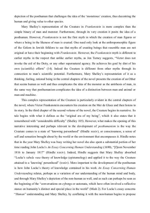 example of excerpt in literature