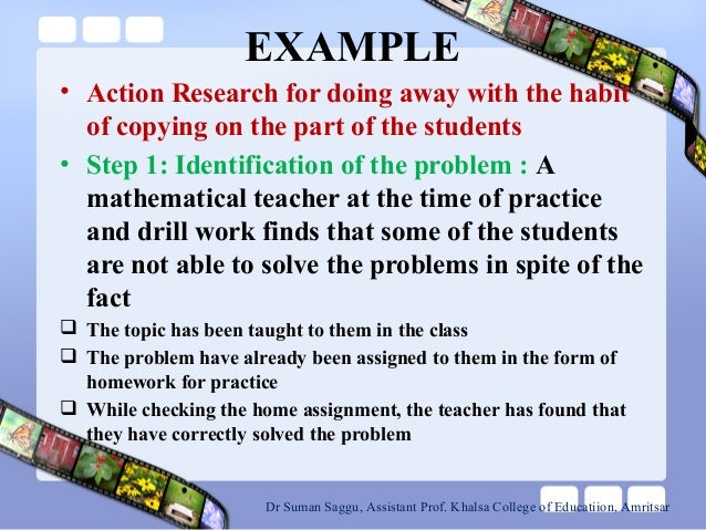 example of research problem title