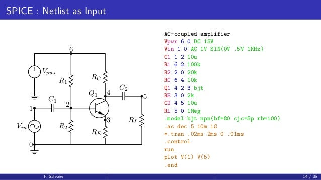 circuit simulation with spice for ac circuits example