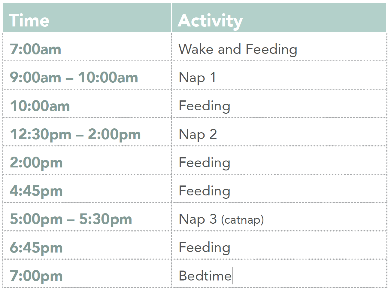 example of timetable for year 9 nsw
