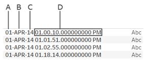 mysql date data type format example