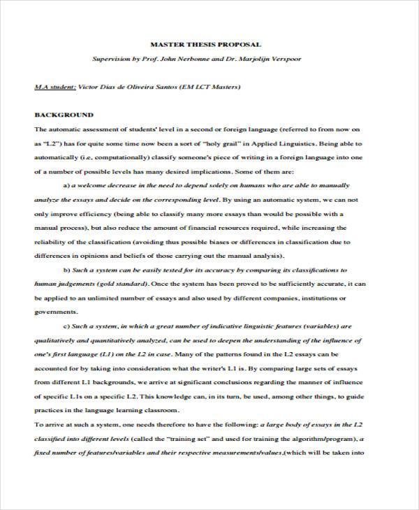 master thesis proposal example pdf