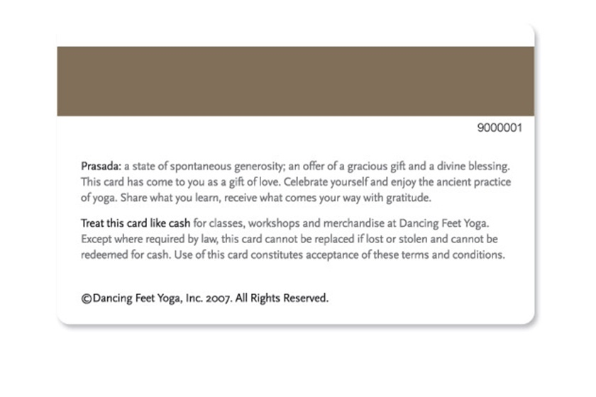 gift voucher terms conditions example