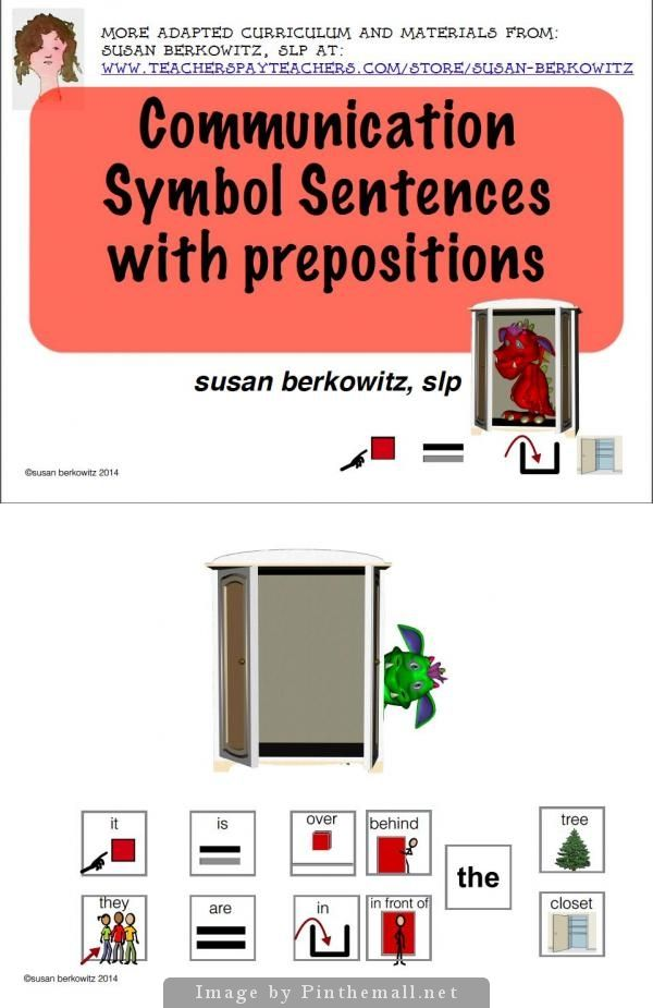 give example of preposition sentence