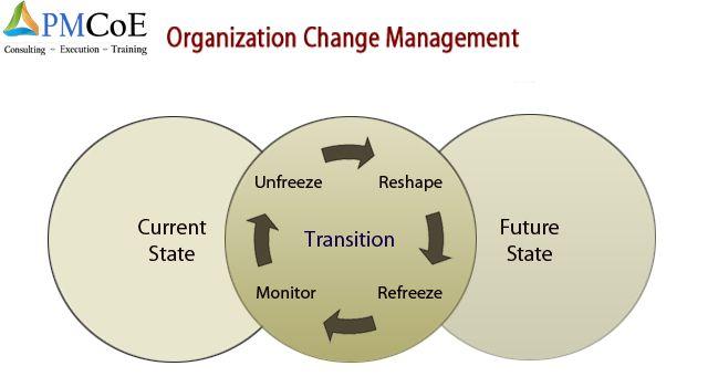 organizational change management plan example