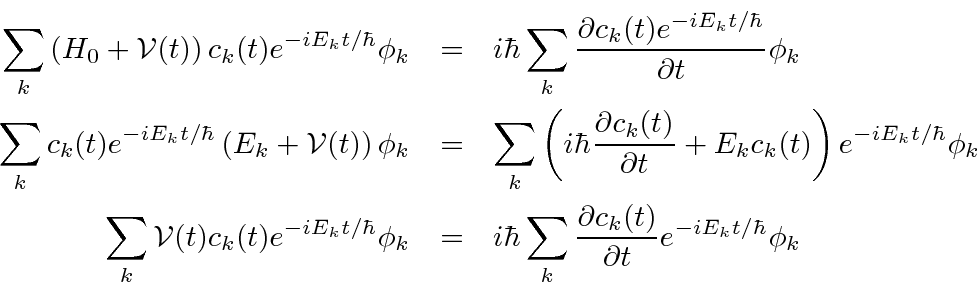 perturbation theory quantum mechanics example