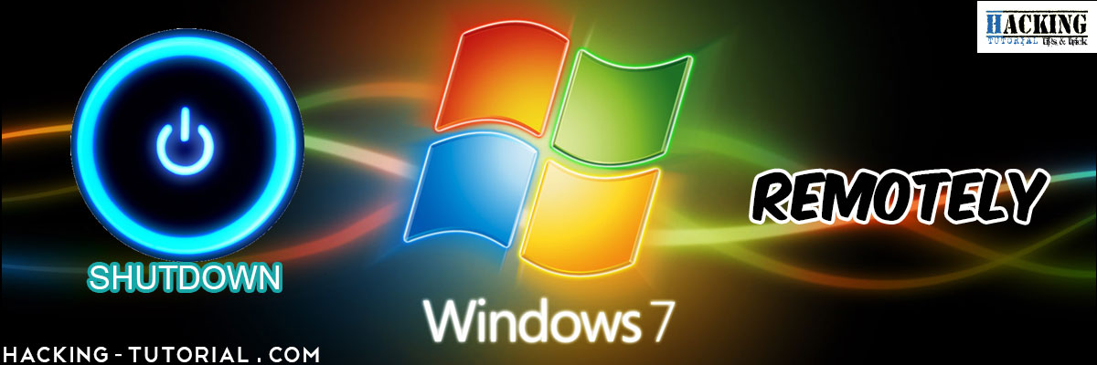 remote shutdown command windows 7 example