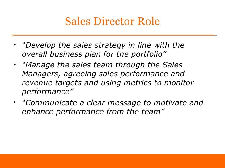 sales manager business plan example