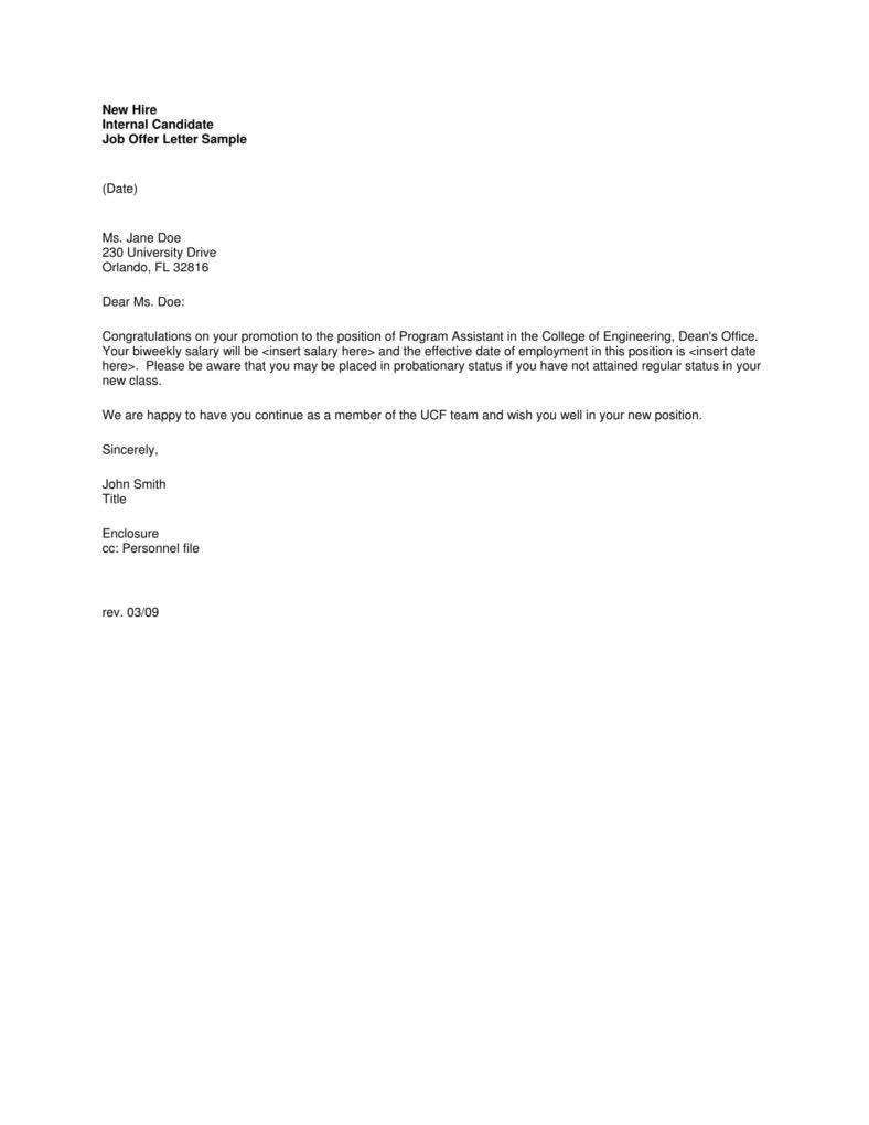 sample business letter format example
