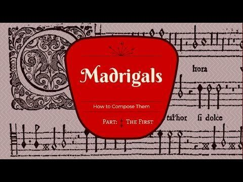 the madrigal is an example of