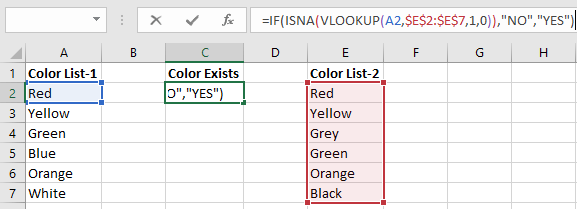 vlookup example between two sheets
