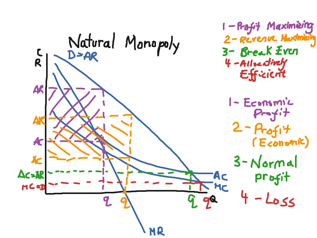 what is an example of a natural monopoly